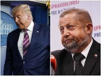 Donald Trump a Štefan Harabin