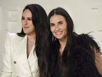 Demi Moore so svojou najstaršou dcérou Rumer.