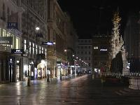 Prázdne ulice Viedne