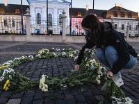 Iniciatíva Za Slušné Slovensko umiestnila na námestia miest tisícky kvetov