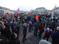 Protest počas 17. novembra