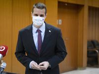 Na snímke štátny tajomník Ministerstva zahraničných vecí a európskych záležitostí SR Martin Klus