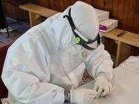Hasiči pomáhajú s testovaním na koronavírus