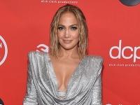 Jennifer Lopez na udeľovaní cien American Music Awards