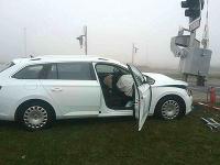 Hasiči aktuálne zasahujú pri dopravnej nehode, ktorá sa stala na Slovnaftskej ceste v Bratislave.