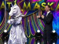 Eva Burešová sa v šou Zlatá maska skrývala pod kostýmom jednorožca.
