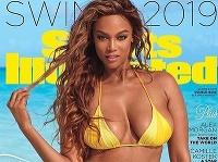 Tyra Banks v roku 2019 žiarila na titulke na Sports Illustrated