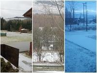 Slováci už hlásia prvý sneh.