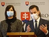 Veronika Remišová a Juraj Šeliga