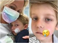 Syn Zuzany Belohorcovej sa zranil v škole.