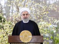 Iránsky prezident Hasan Rúhání