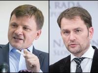 Alojz Hlina a Igor Matovič