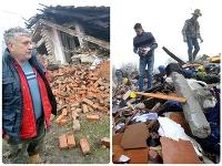 Škody po zemetrasení v Chorvátsku