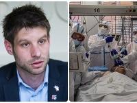 Michal Šimečka (vľavo) odporúča vláde, aby požiadala o medzinárodnú zdravotnícku výpomoc