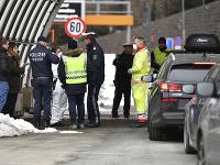 Hraničný prechod v Rakúsku