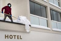 Hotel v luxusnom lyžiarskom stredisku St. Moritz.