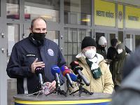 Primátor Košíc Jaroslav Polaček a starosta mestskej časti Košice Sever František Ténai