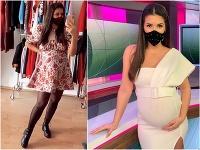 Soňa Skoncová si vyslúžila kritiku za svoje tehotenské kilá. Vraj by nemala nosiť šaty.