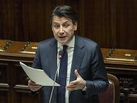 Taliansky premiér Guiseppe Conte