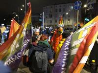 Protest proti spornému zákonu
