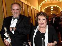 Jiřina Bohdalová a Ľubomír Focko
