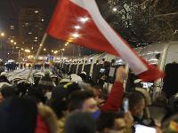 Protest v Poľsku