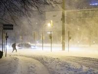 Nemecko zasiahlo silné sneženie