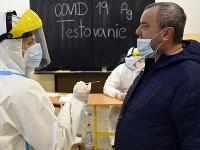 Antigénové testovanie na ochorenie Covid-19 v Trebišove