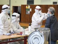 Testovanie na koronavírus v Prešove