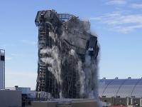Demolácia komplexu kasína Trump Plaza Hotel and Casino v Atlantic City