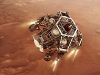 Robotické vozidlo Perseverance pristálo na povrchu Marsu