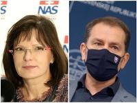 Anna Belousovová poslala vládu Igora Matoviča do čerta!
