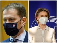 Igor Matovič hovorí, že diskutoval s predsedníčkou Európskej komisie Ursulou von der Leyenovou.