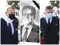 Na pohreb prišli okrem opozičných poslancov aj členovia vlády.