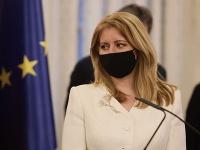Prezidentka SR Zuzana Čaputová