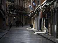 Ulice v Aténach zostanú kvôli opatreniam prázdne