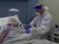 Francesco Tursi počas služby v nemocnici.