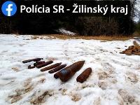 Pri Ružomberku našli muníciu z druhej svetovej vojny