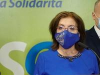 Anna Zemanová, predsedníčka poslaneckého klubu SaS