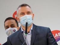 Predseda strany Hlas-SD Peter Pellegrini