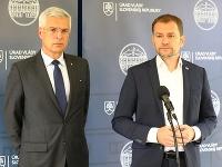 Ivan Korčok a Igor Matovič