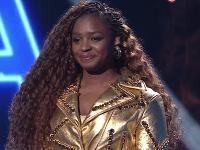Esther Lubadika v speváckej šou SuperStar.