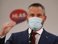 Expremiér a líder mimoparlamentného Hlasu-SD Peter Pellegrini