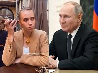 Julia Rozova je vraj dcérou Vladimira Putina.