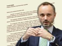 Valášek sa lúči so šéfom parlamentu listom