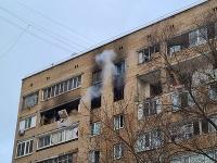 Výbuch v bytovom dome v moskovskej mestskej časti Chimki