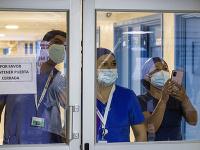 Zdravotníci v Čile