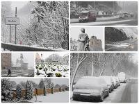 Na Slovensku 6. apríla nasnežilo