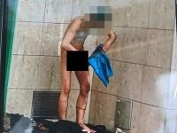 Bezdomovec zápasil s parazitmi