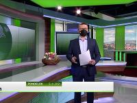 Dárius Haraksin moderuje večerné športové spravodajstvo na Jojke.